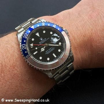 Rolex GMT Master 16700 Wristshot