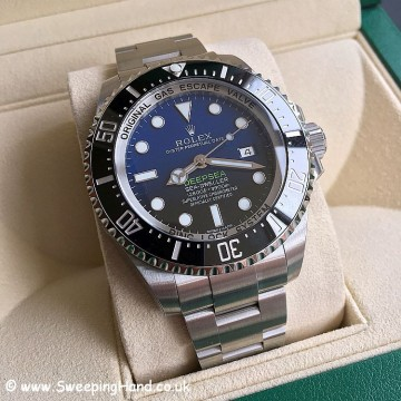 Rolex 116660 DeepSea D-Blue James Cameron 2