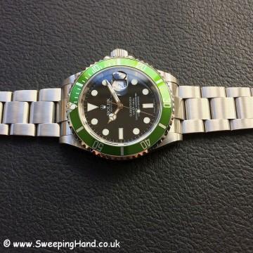 Rolex Submariner 16610LV 50 year anniversary 4