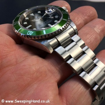 Rolex Submariner 16610LV 50 year anniversary 9