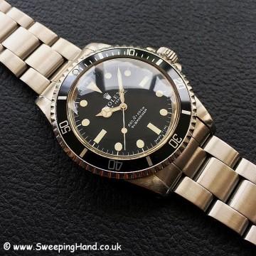 Rolex 5513 Matte Dial 1