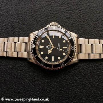 Rolex 5513 Matte Dial 3