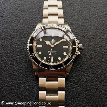 Rolex 5513 Matte Dial 5