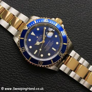 Rolex 16613 Blue Dial Bi-Metal 1