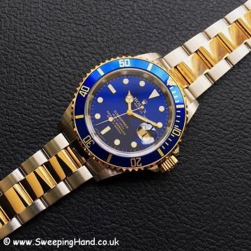 Rolex 16613 Blue Dial Bi-Metal 2