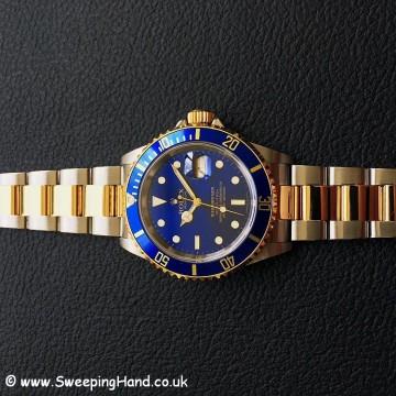 Rolex 16613 Blue Dial Bi-Metal 3