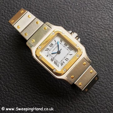 Ladies Cartier Santos -10