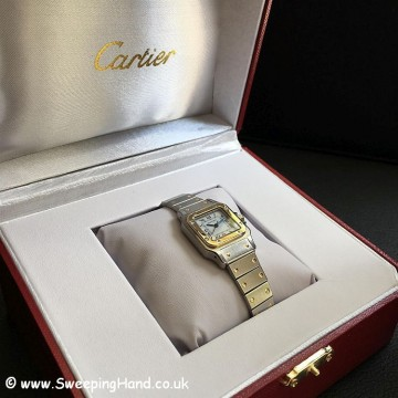 Ladies Cartier Santos -11