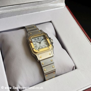 Ladies Cartier Santos -12