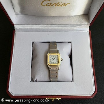 Ladies Cartier Santos -5