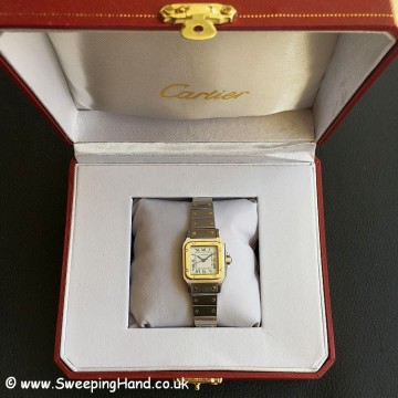 Ladies Cartier Santos -9