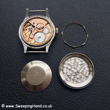 Omeg RAF 53 case parts