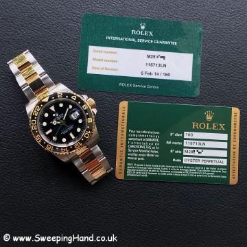 Rolex 116713LN GMT Master -8