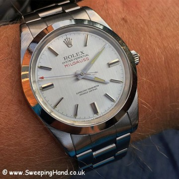 Rolex 1019 Milgauss Box and Papers -9