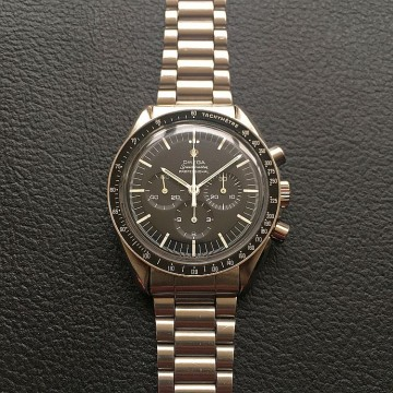 1967 Omega Speedmaster Applied logo