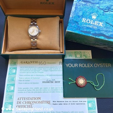 Ladies Rolex Date Full set
