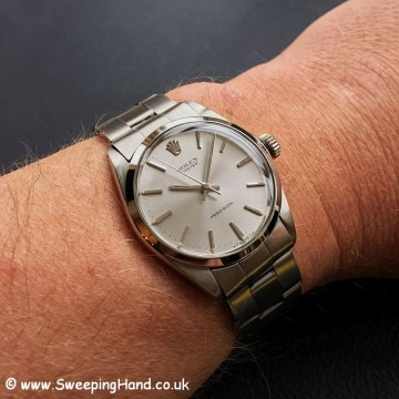 1969 Rolex Oyster Precision Wristshot