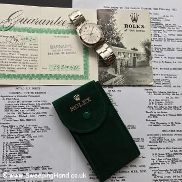 Rolex 6426 Original Papers