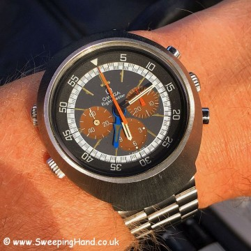 Omega Flightmaster tropical dial 2