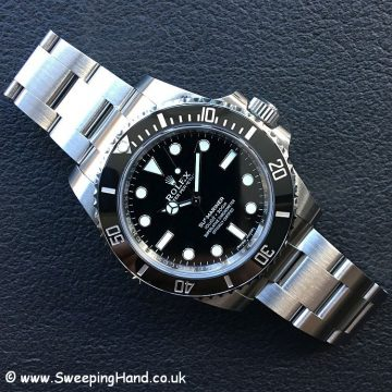 2018 Rolex 114060 with Guarantee 1