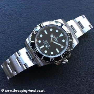 2018 Rolex 114060 with Guarantee 2