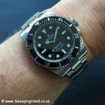 2018 Rolex 114060 with Guarantee 5