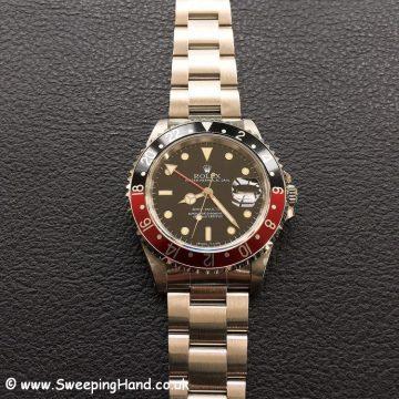 Rolex 16700 GMT Master 4