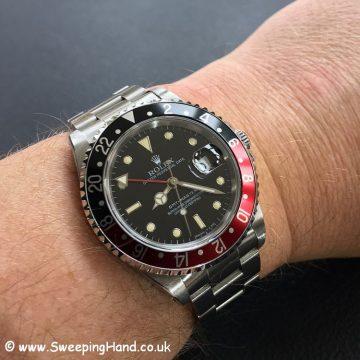 Rolex 16700 GMT Master 5