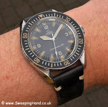 Omega Seamaster 165024 - Tropical 2