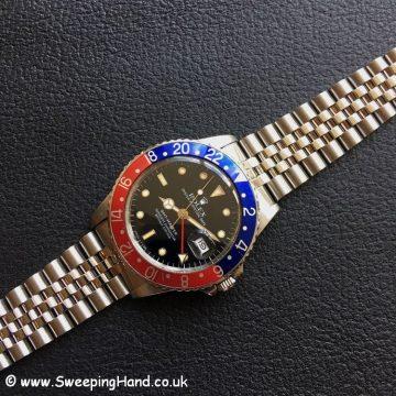 1988 Rolex 16750 GMT Master 1
