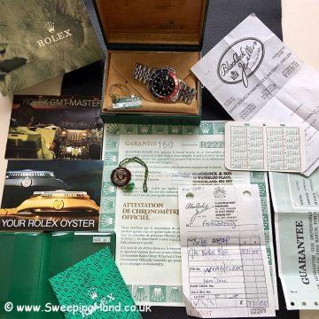 1988 Rolex 16750 GMT Master 2 -2