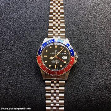 1988 Rolex 16750 GMT Master 3