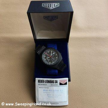 Heuer PVD Chronograph NOS 11