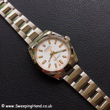 Rolex Milgauss 116400 White -1
