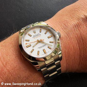 Rolex Milgauss 116400 White -3