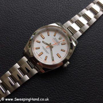 Rolex Milgauss 116400 White -4