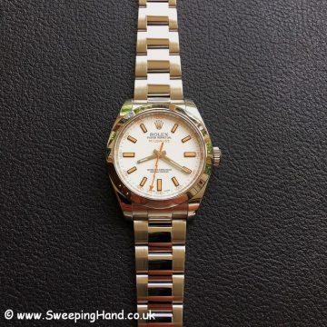 Rolex Milgauss 116400 White -5