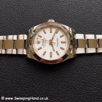 Rolex Milgauss 116400 White -6