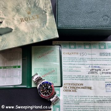 Rolex GMT 16750 Box & Papers