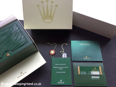 Rolex Yachtmaster 16622 Platinum Box and Papers