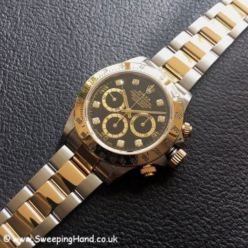 Zenith Gold Rolex 16523 Diamond Dial-2