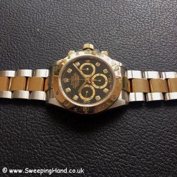 Zenith Gold Rolex 16523 Diamond Dial-3