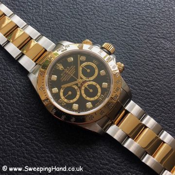 Zenith Gold Rolex 16523 Diamond Dial