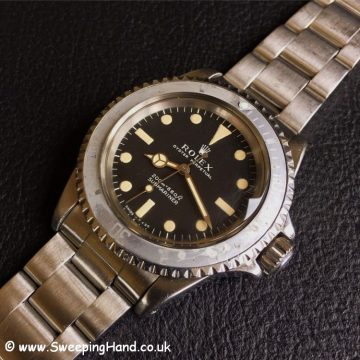 1968 Rolex 5513 Meters First