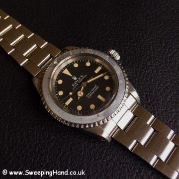 1968 Rolex 5513 Metres First
