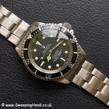 Rolex 5512 Metres First Submariner