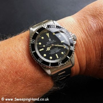 Rolex 5512 Submariner Metres First