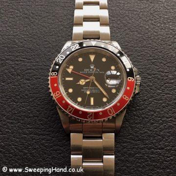 Rolex 16760 GMT Master II