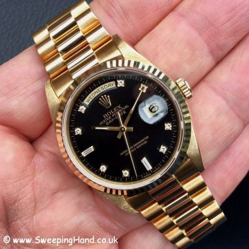 Rolex 18238 Day Date Diamond Dial