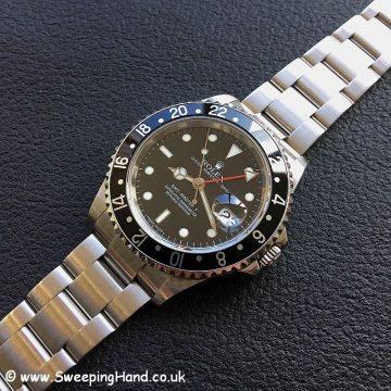Rolex 16710 GMT Master Stick Dial